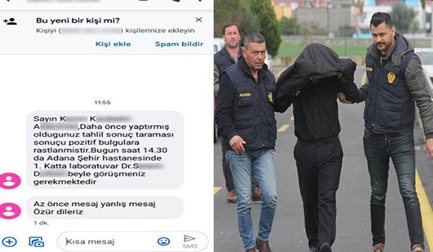 Asılsız test sonucu gönderen memur tutuklandı