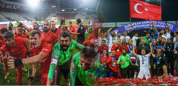 Milli Takım, ikinci kez Avrupa Şampiyonu oldu