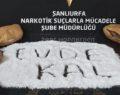 Şanlıurfa'da 3 kilo metamfetamin ele geçirildi