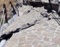 Avanos'ta toprak kayması meydana geldi