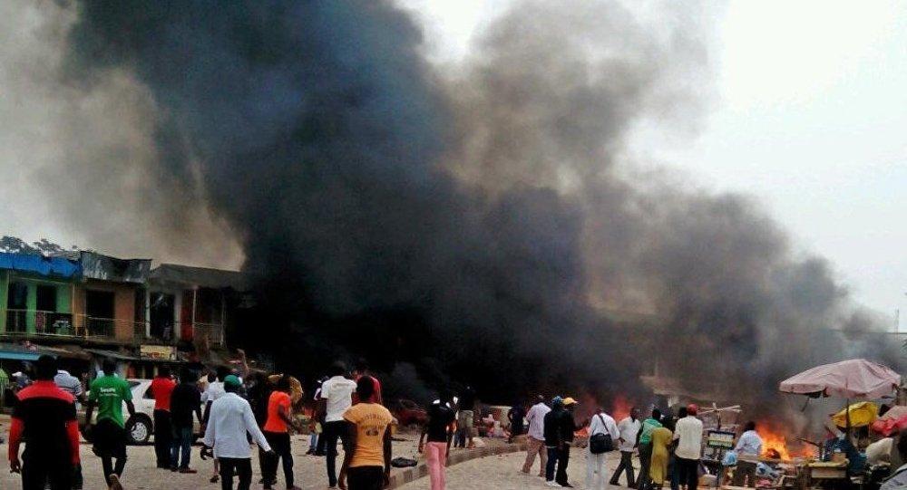 Pazar yerine bombalı saldırı: 15 ölü,18 yaralı
