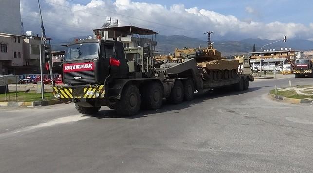 Sınır birliklerine füze rampası gönderildi