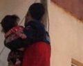Şanlıurfa'da mahsur kalan çocuk kurtarıldı