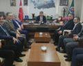 DEDAŞ ve Sulama Daire Başkanlığından Ziraat Odasına ziyaret