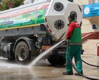 Şanlıurfa'da okullar temizlik ve dezenfekte ediliyor