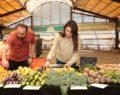 Şehrin ilk organik pazarı müşteri bekliyor