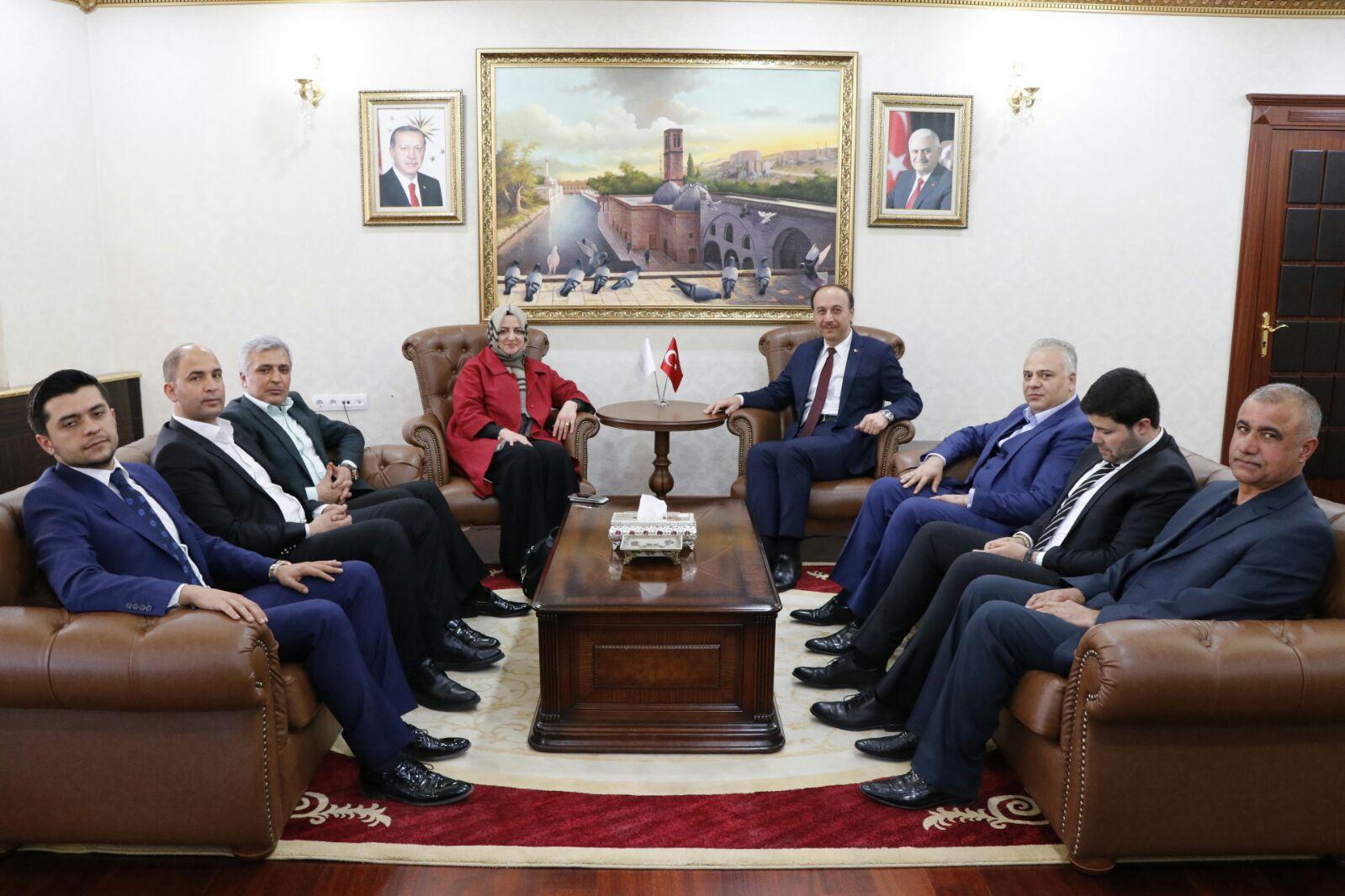 Baş Danışman Gülşen Orhan  Urfa'yı ziyaret etti