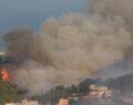 Orman yangınlarına havadan ve karadan müdahale sürüyor