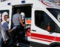 Otomobil yayalara çarptı: 3 yaralı