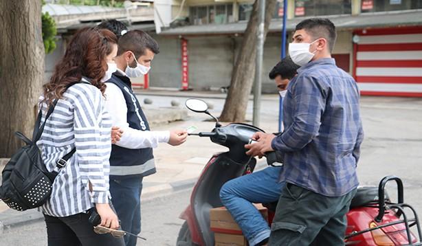 Şanlıurfa'da Sokağa çıkma kısıtlamasına uymayanlara para cezası