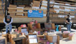 10 milyon lira değerinde kaçak parfüm ele geçirildi