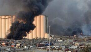 Beyrut'a ölü sayısı 100'e yükseldi