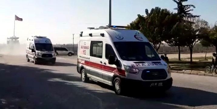 Tel Abyad bölgesinde patlama