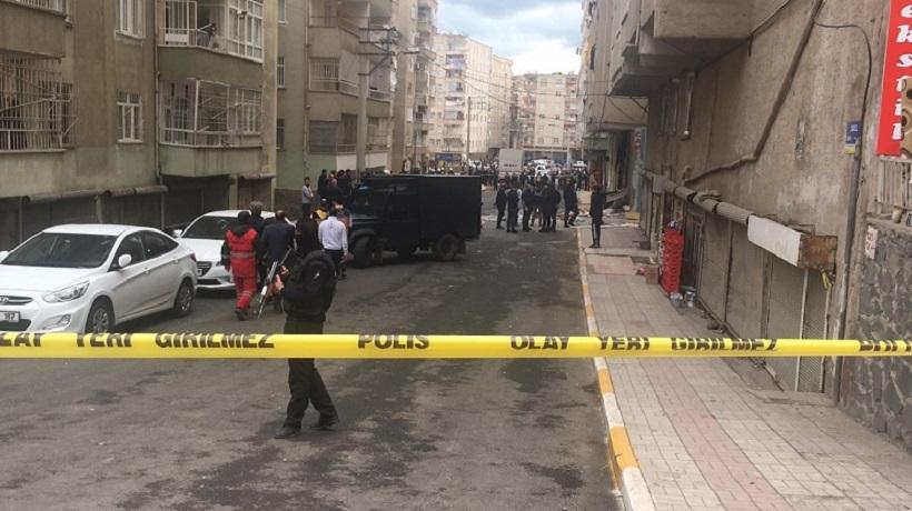 Diyarbakır'da patlama: 5 yaralı