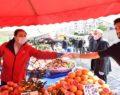 Halk pazarlarına mesafe uyarısı