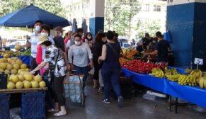 Yasak sonrası pazarlarda yoğunluk