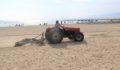 Plaj temizliği çalışmaları tüm hızıyla devam ediyor