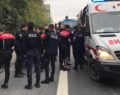 Polis polise çarptı