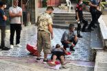 Müdahaleye giden polisi yaraladı