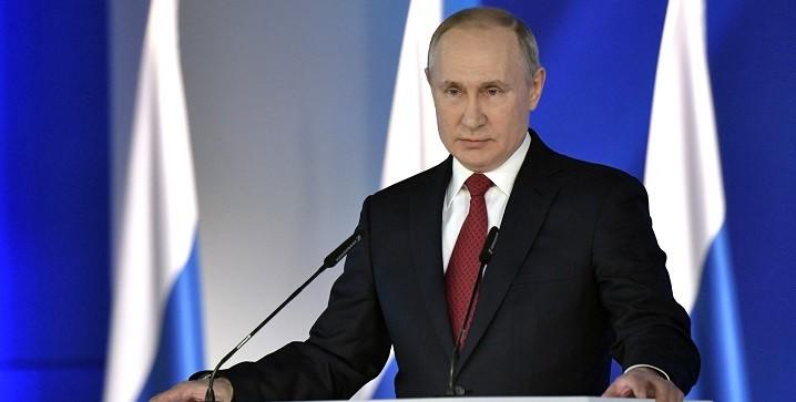 Putin anayasa değişikliği istedi