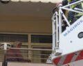 Yaşlı kadını kurtarmak için ekipler seferber oldu