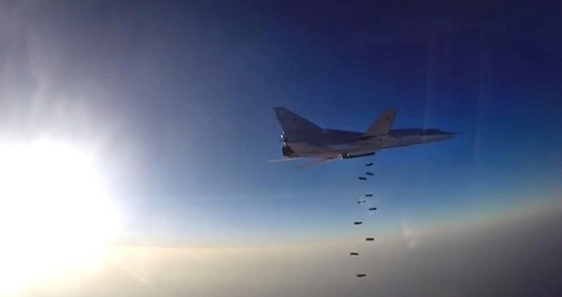 Rus jetleri idlib'ı vurdu