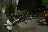 Sıra gecesi ekibinden Millet Bahçesinde müzik şöleni