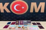 Sahte kimlik ve pasaport yapanlara operasyon