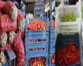 Sebze ve meyve fiyatları halde düştü markette yükseldi