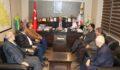 Afrin şehidinin ailesinden Demirkol'a ziyaret