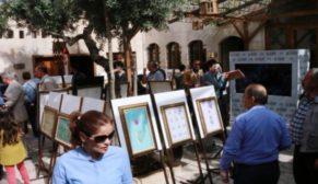'Osmanlı Sanatları Sergisi'ne yoğun ilgi