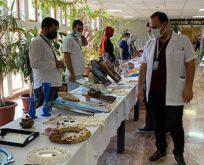 AMATEM'de tedavi gören hastalar sergi açtı