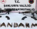 Şanlıurfa'da uzun namlulu silah ele geçirildi