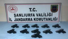Silah kaçakçılık operasyonu: 1 tutuklama