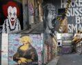 Sokaklar grafitilere kaldı