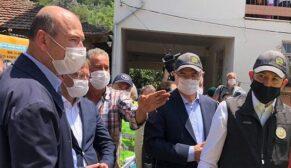 """Bakan Soylu: """"Yaraların sarılması için gerekli adımlar atılıyor"""""""