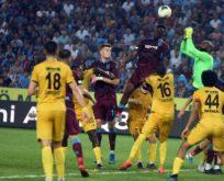 Trabzonspor 3 puan'la tanıştı