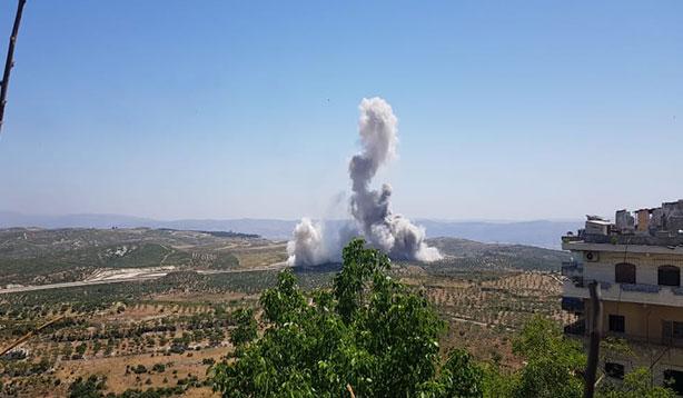 Suriye'de patlama