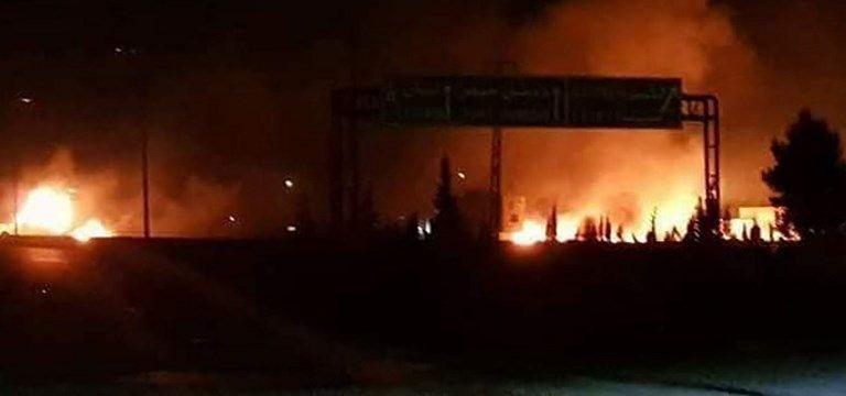 Suriye'de İran ve İsrail savaşı