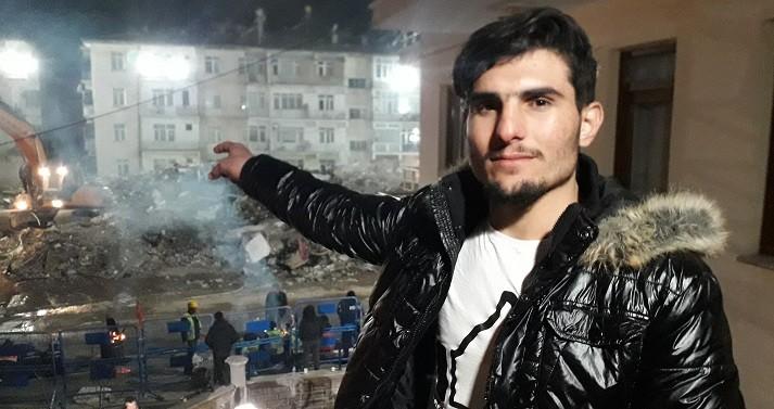 Depremin kahramanı ''Suriye'li Mahmut'' duygularını anlattı