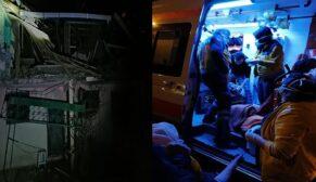 Sahur hazırlığı yapan yaşlı çiftin evinde tüp patladı