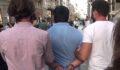 Kadını takip eden kişi güven timlerince yakalandı