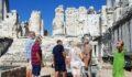 Tarihi tapınak yerli ve yabancı turistlerin gözdesi oldu