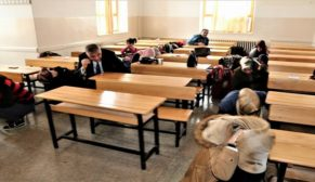 Eyyübiye HEM'de deprem tatbikatı