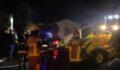 Feci yangın: 1500 tavuk telef oldu