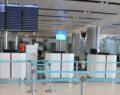 Havalimanı'nda korona virüs test merkezi açıldı