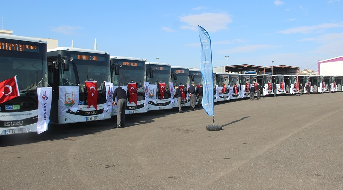 Şanlıurfa'da toplu taşıma ağı genişletildi