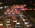 Kısıtlama sonrası trafik yoğunluğu yüzde 40'ı aştı