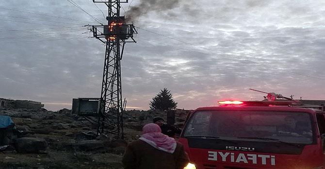 Şanlıurfa'da iki ayda onlarca elektrik trafosu yandı