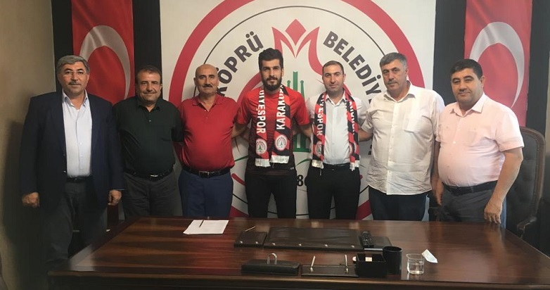 Karbel Karaköprü Belediyespor'da transfer çalışması